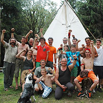 Vater-Sohn-Camp